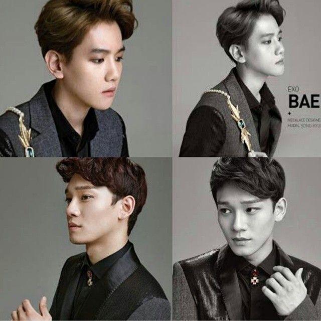 Baekhyun and Chen ♥