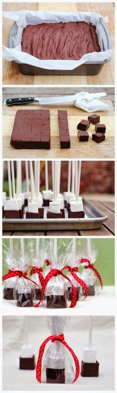 How To Hot Chocolate Blocks