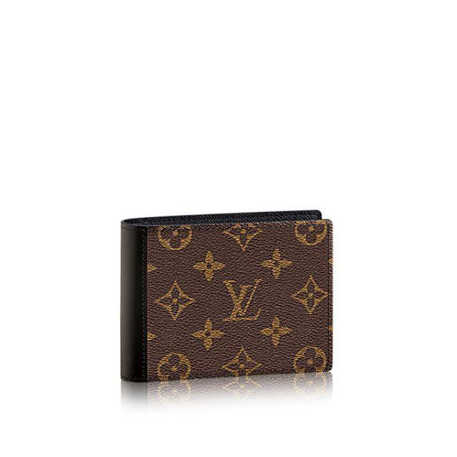 Louis Vuitton Mindoro Wallet Monogram Macassar Canvas