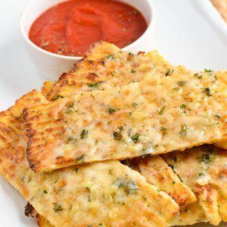 Syn Free Cheesy Cauliflower Garlic Bread