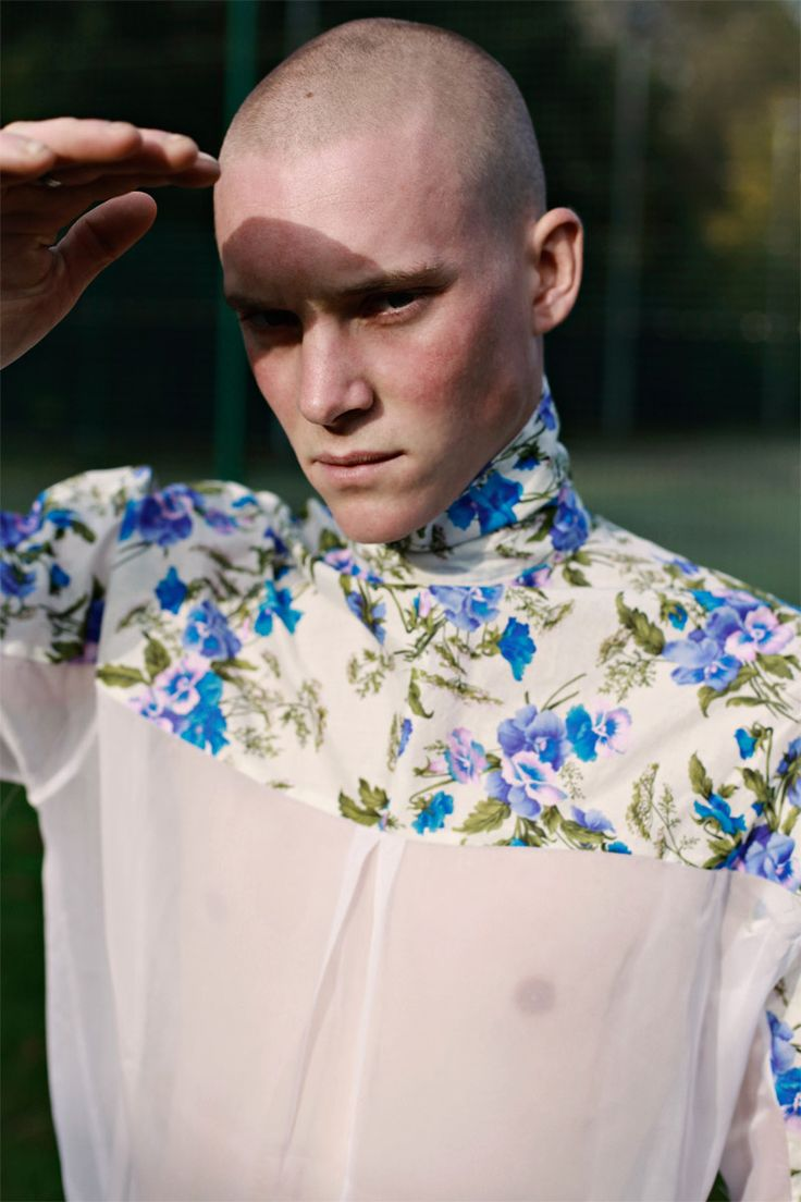 Cedric & Andrew photographed by Daniyel Lowden and styled by Byron London in exclusive for Fucking Young! Online.