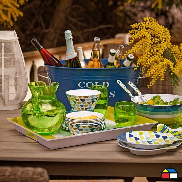 ¡Aires marinos en tu #terraza #jardin!