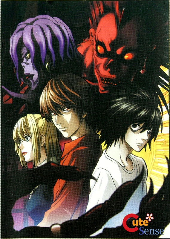 """Death Note, based on the manga by Tsugumi Ohba and Takeshi Obata, is a must watch. I wouldn't recommend this to young kids. Its genres are mystery, psychological and supernatural thriller, and drama.  It's based on the idea that a """"Death Note"""" allows you to kill anyone if you know what they look like, and you write their name in it. The books are owned by shinigami (death gods). The main character, Light Yagami, aims to rule the world through the book."""
