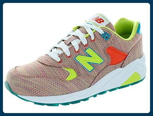 New Balance , Damen Sneaker Pink Rosa, Pink - Salmone - Größe: 36.5 - Sneakers für frauen (*Partner-Link)