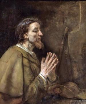 Meet James: The First Apostle to Die for Jesus: The Apostle James by Rembrandt, 1661.