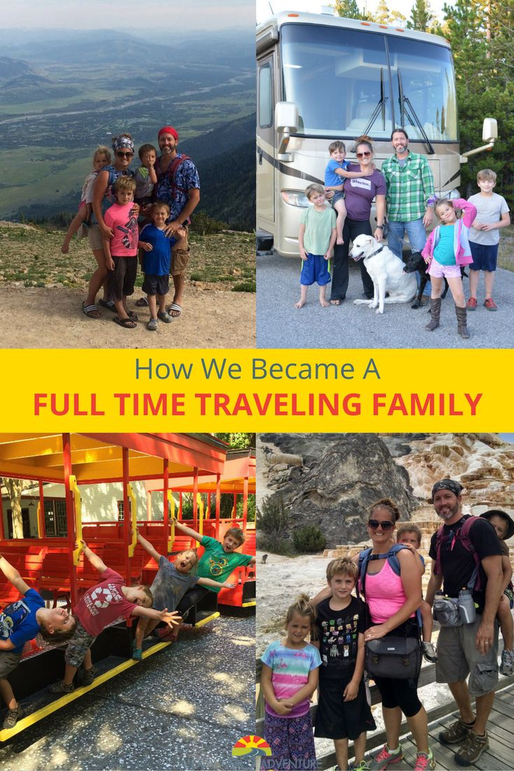 How we went from a normal life in our dream house to a life of full time RV family travel!  via @Crazy Family Adventure