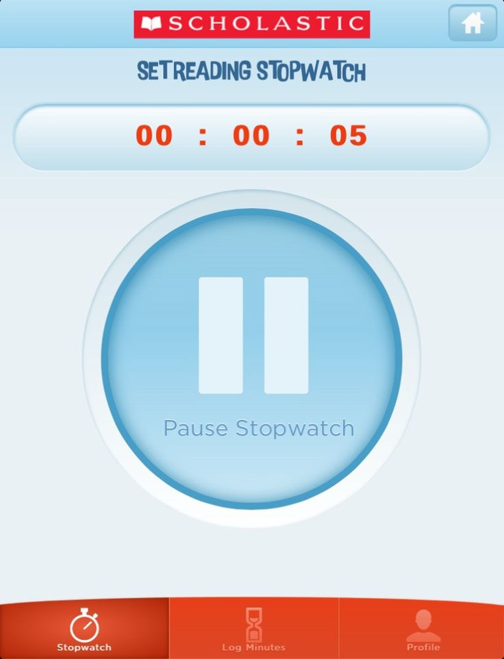 Tracking time for a summer reading program? Scholastic offers a great reading timer app!