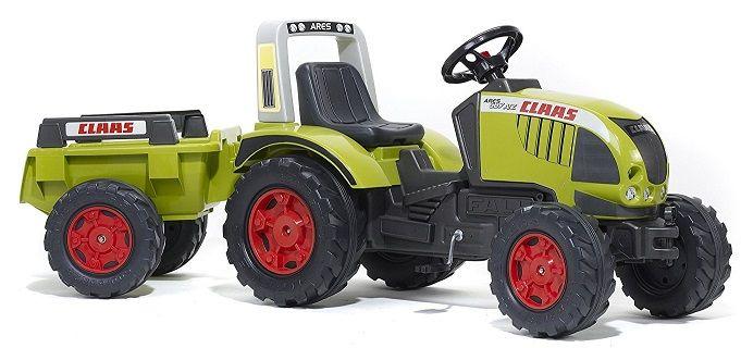 TRACTOR DE PEDALES INFANTIL CON REMOLQUE - FALK991B, IndalChess.com Tienda de juguetes online y juegos de jardin