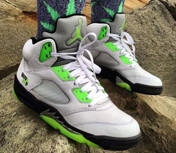 Plus de 30 photos de Air Jordan 5 portées pour vous aider à bien mettre en  valeur votre paire.