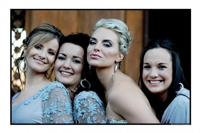 Bride & bridesmaids...