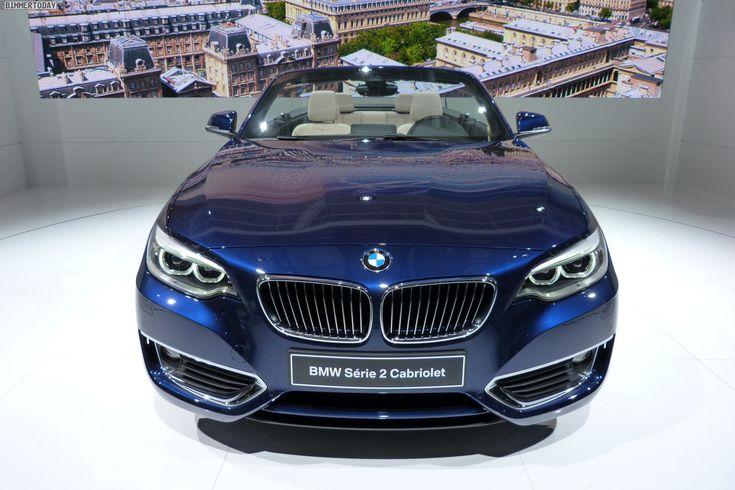Video: New BMW 2 Series Convertible at 2014 Paris Motor Show - http://www.bmwblog.com/2014/10/04/video-new-bmw-2-series-convertible-2014-paris-motor-show/