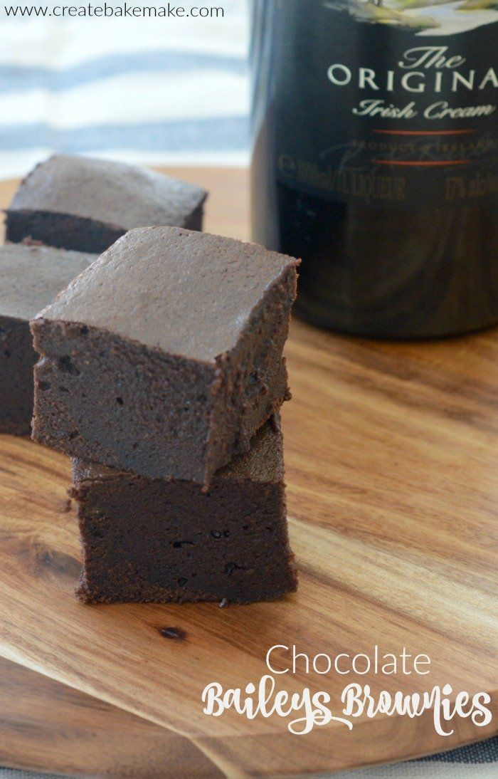 Chocolate Baileys Brownies