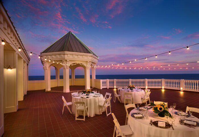 Roof Top space at the Pelican Grand Beach Resort in Ft. Lauderdale, FL. Ocean view is to die for.