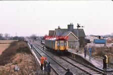 PHOTO  1979 BICESTER TOWN RAILWAY STATION 1979 THE FORMER LNWR RAILWAY STATION A