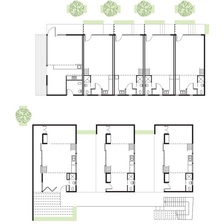 9 best interesting plans cuts images on pinterest for Dwell small house plans