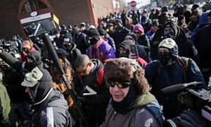 Homan Square protesters demand answers over Chicago police 'black site'   US news   The Guardian