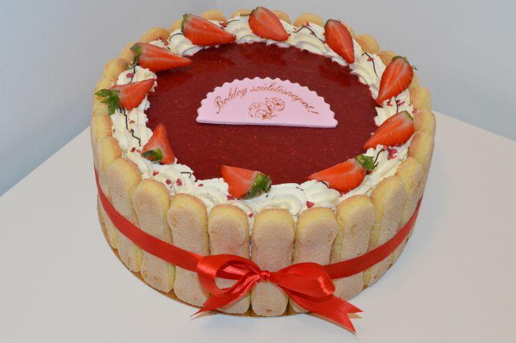 Strawberry Charlotte