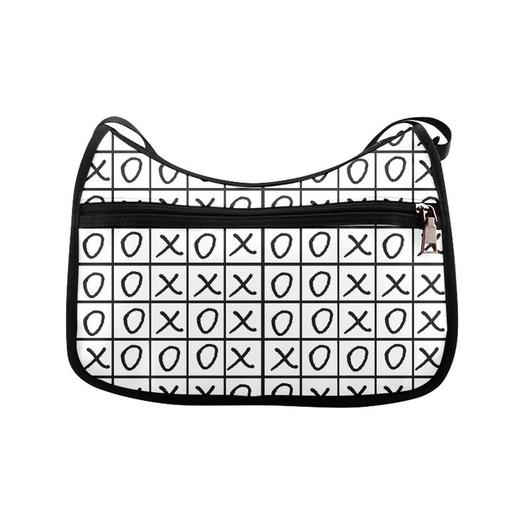OXO Game - Noughts and Crosses Crossbody Bags (Model 1616)