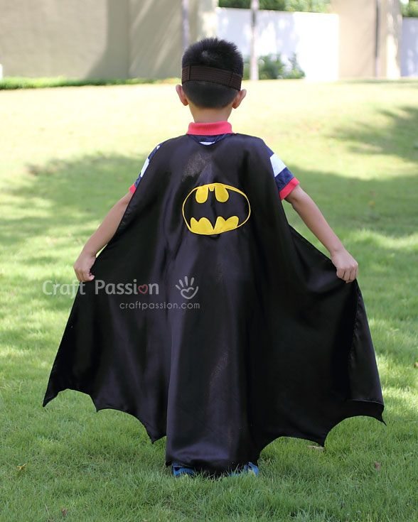 sew quick batman cape
