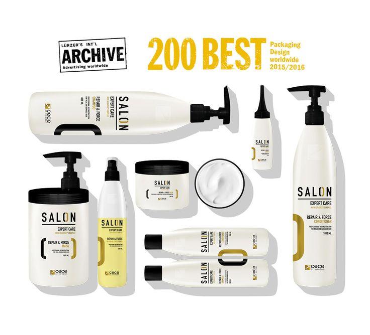 SALON - Professional hair care cosmetics. Packaging Design. Branding.