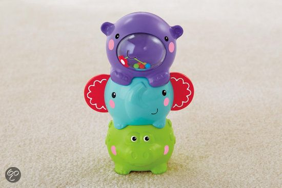 bol.com | Fisher-Price Stapelgeluidjes - Dieren,Mattel | Speelgoed