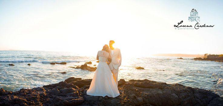 Vestido de novia| Bride | Novia | Vestido hermoso |Organieventos | Los novios | Fotografia de novios| Mi boda frente al mar
