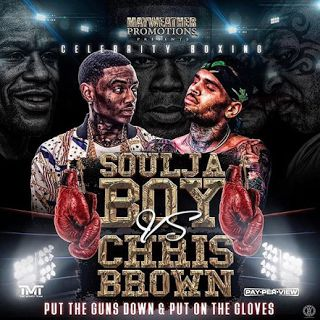 Chris Brown Vs Soulja Boy Tickets  Chris Brown vs Soulja Boy tickets will most likely be sold on the MGM Grand website. In the video at the end of this post Soulja Boyreveals that the fight will be in March 2017. Soulja Boy then advises his fans to get their tickets right now before they sell out. The rapper's video broke the Internet and now has us all searching for tickets to the fight.  Scroll down to see Twitter reactions from users trying to find tickets to the event. Rest assured the…
