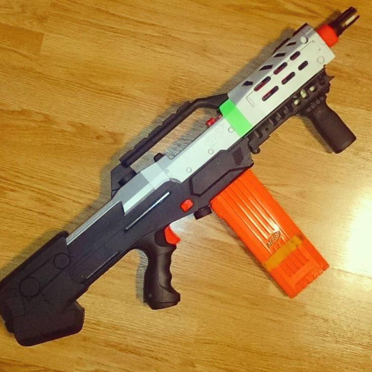 Nerf LongShot light-strike mod
