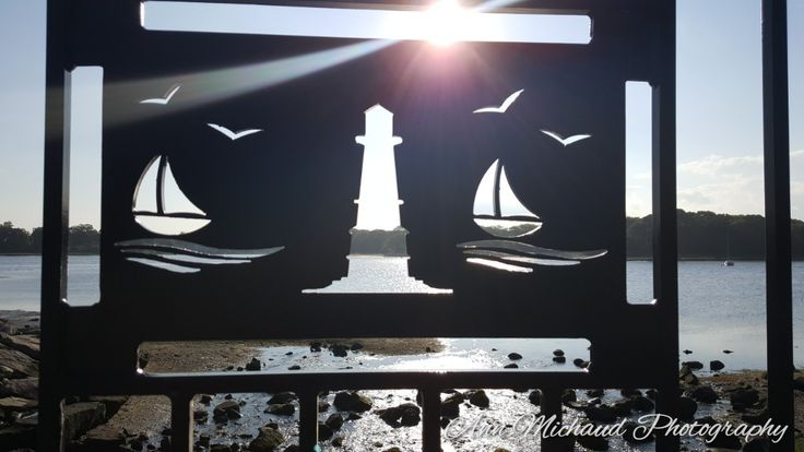 A gem we found by the water Warwick,RI  7/15/17 ♡ His love for sailboats & mine for lighthouses make a perfect fit!!!