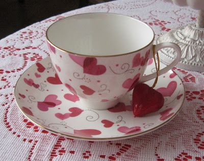 Rose Chintz Cottage: Valentines Day Tea Time Tuesday