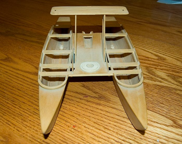 Homemade Foam Boat | Thread: Birdwing double dory catamaran