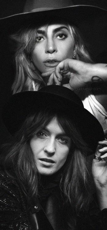 Hey Girl (Joanne) Lady Gaga feat. Florence Welch. Follow rickysturn/amazing-women