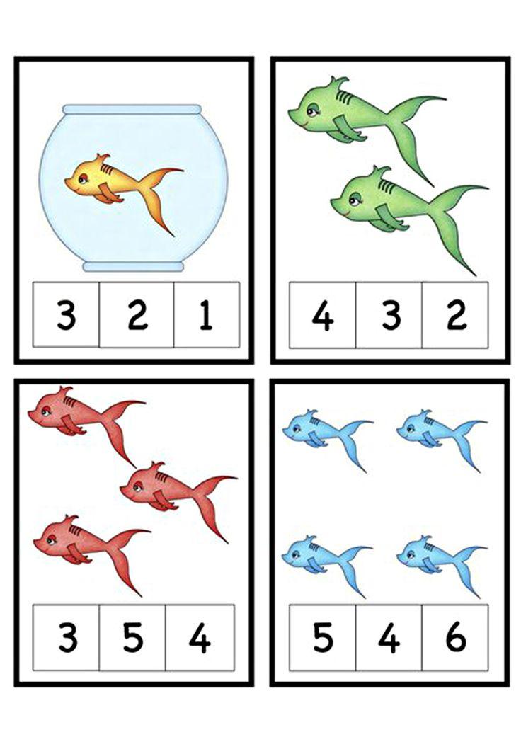 Разнообразные математические задания. Рыбы