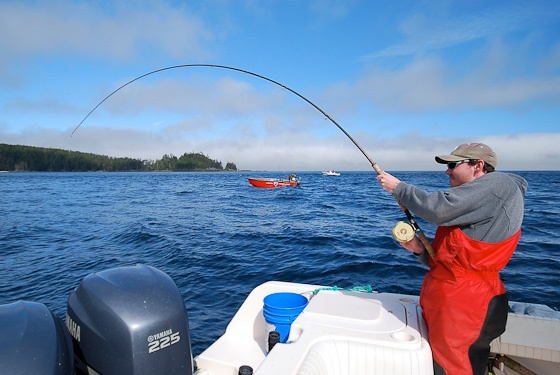 Langara Island Salmon Fishing Report: August 17, 2012