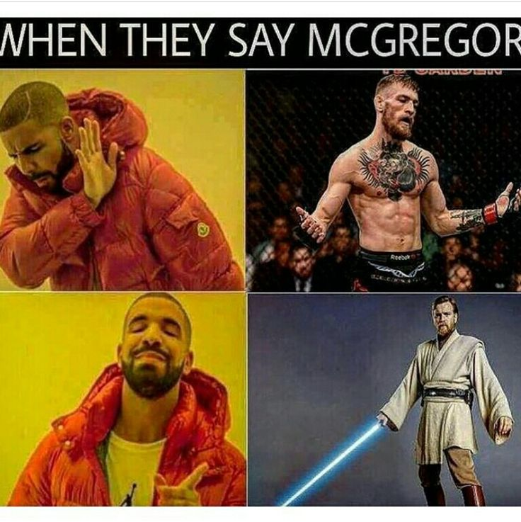 When I heard about the fight I literally thought it was Ewan McGreggor. I was so confused until someone told me it was a wrestling match.