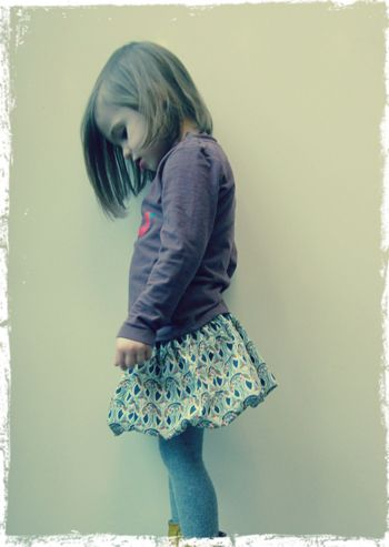 Bubble Skirt Tutorial || Free Pattern By Straight Grain || Sew Mama Sew