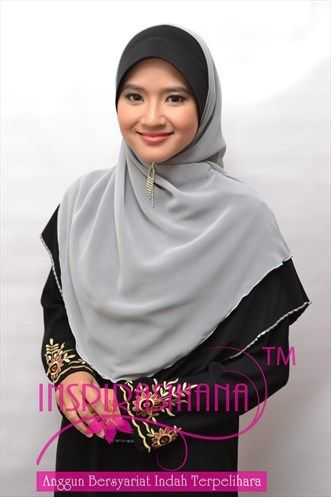 #islam muslimah fashion  http://kedaitudunglabuh.blogspot.com/2013/07/tudung-lycra-chiffon-dua-layer-hannah.html