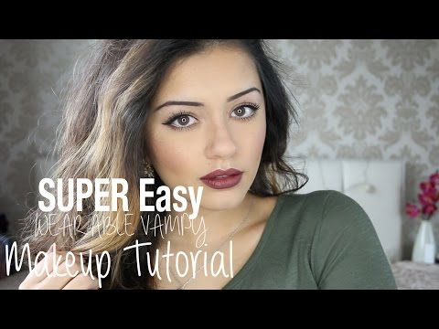 ▶ Tutorial | QUICK + EASY Wearable Vampy Makeup | Kaushal Beauty - YouTube