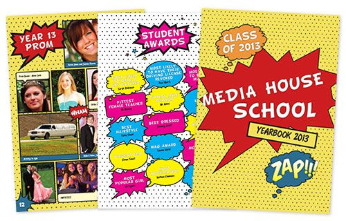 Yearbook theme ideas-even more comic book-style theme ideas