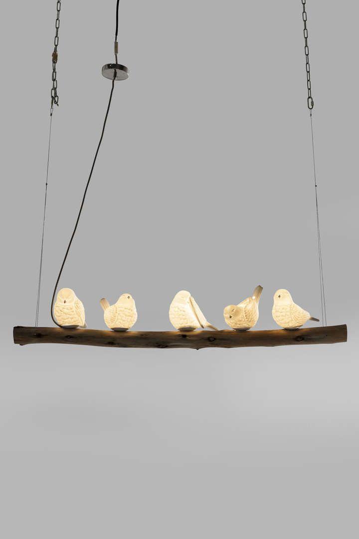"""Люстра для столовой """"Птицы"""" (Birds), 5 лампочек"""