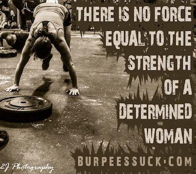 Determined women of Crossfit...ha ha i love this...burpeessuck.com:) I HATE you burpee!:)