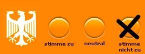 Wahl-O-Mat für die Bundestagswahl 2013  clickt an das Bild und Ihr wedet zu dem Wahl-O-Mat geführt. Vieleicht hilft es Euch zu entscheiden.  : Alle News zu Parteien, Themen und Prognosen - FAZ