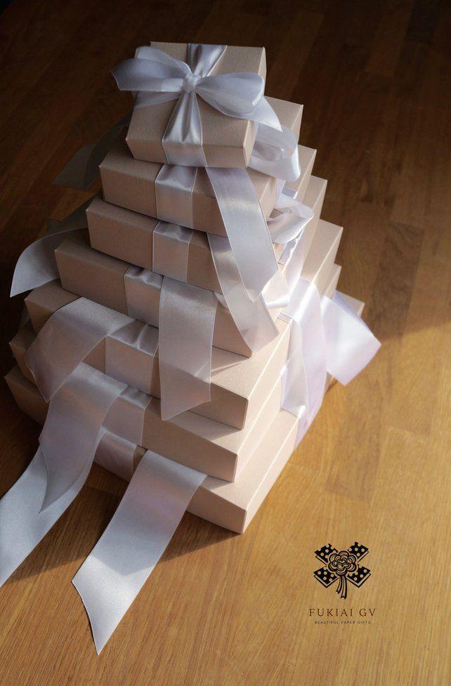 Handmade Wedding Exploding Box 7 In 1 Anniversary Gift Etsy