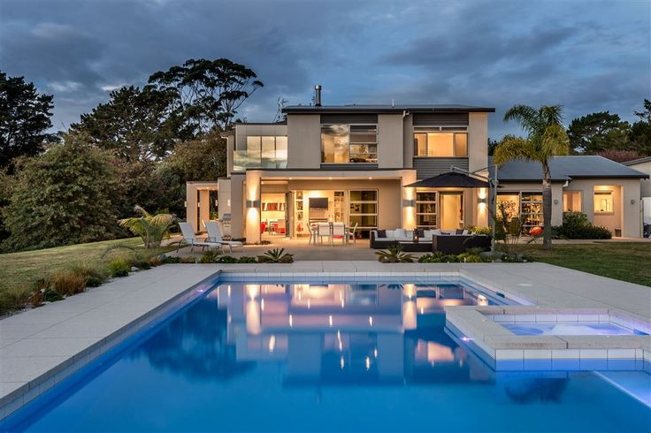 Sensational sunsets and ultimate privacy will be a part of everyday life once you own this spectacular lifestyle property within this stunning location. 19 Messenger Road   Rodney District   #NewZealand   Luxury Property Selection