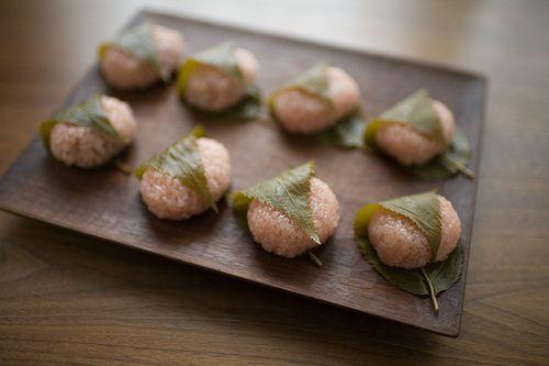Japanese sweets -Sakura mochi-