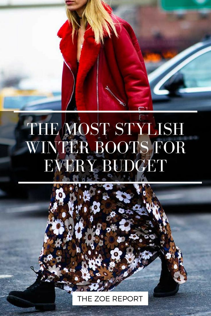 Beat the BRR! Here are stylish winter boots for every budget..