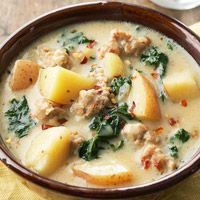 Low-carb, low-fat version of the Olive Garden Toscana soup