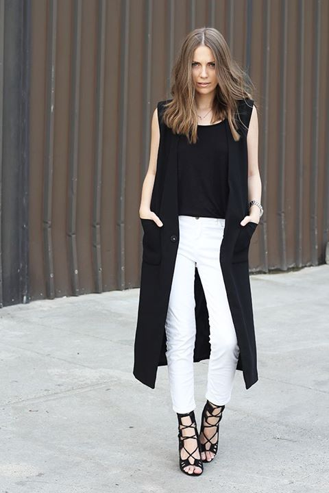 41 best sleeveless coat images on Pinterest | Sleeveless coat ...
