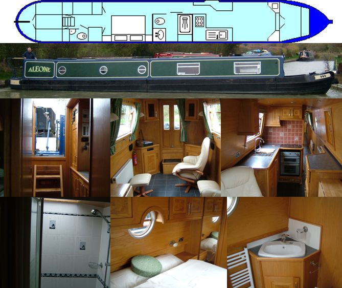 SOLD ALEONE 2005 54FT REEVES SEMI-TRAD £47,000 ... www.calcuttboats.com