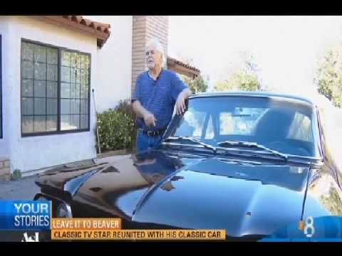 Tony Dow Leave It To Beaver Star Reunited With His 1962 Chevy Corvair Spyder - YouTube